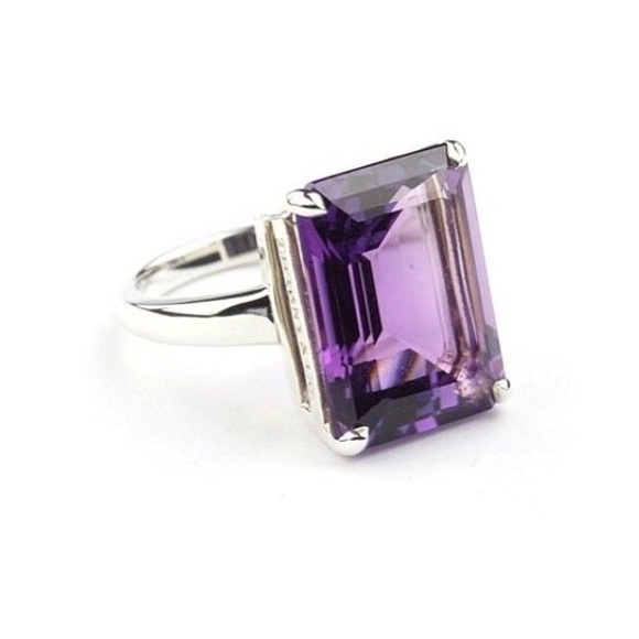 12127b572 Tiffany & Co. Jewelry | Tiffany Co Sparklers Amethyst Cocktail Ring ...